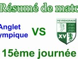 Résumé vidéo Anglet Olympique / Peyrehorade Sport Rugby Pays d'Orthe