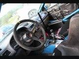 FIAT 500 ABARTH EQUIPAGE PRO EVELYNE LOHR COPILOTE SYLVAIN MORELLEC PILOTE PRO TEAM RALLYE RALLY CAR SUBARU
