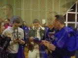 Remise de maillots FOOTBALL CLUB DE SAINT JULIEN DE COPPEL LE 02.03.2012