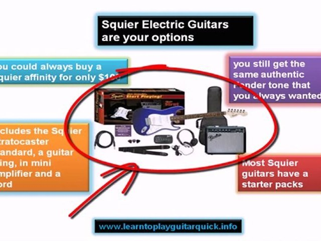 Squier Electric Guitars