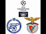 Benfica vs Zenit St Petersburg 6th March 2012 live streaming