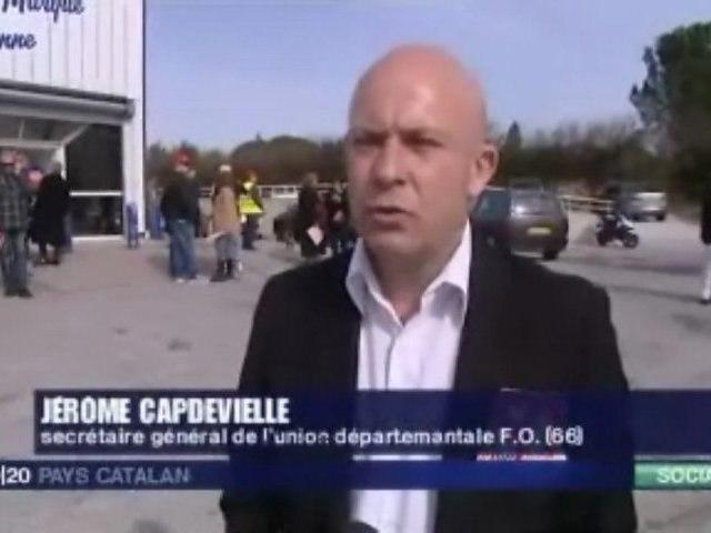 JT France 3 Pays Catalan - UDFO66 contre le travail dominical