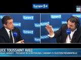 """Sarkozy : les 35 heures, """"une erreur historique"""""""