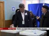 Russie : les observateurs jugent l'élection faussée