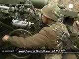 Exercices militaires en Corée du Nord - no comment