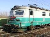 Lokomotiva 122 043-3 a 122 004-5 - Luková u Rudoltic v Čechách, 7.3.2012 H