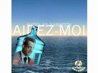 """Aidez-moi"", Nicolas Sarkozy sort son premier single"