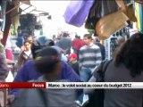 Maroc - Le volet social au coeur du budget 2012