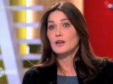 """Carla Bruni-Sarkozy et la presse dans """"C à vous"""""""