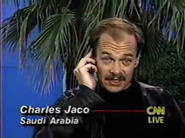 CNN Charles Jaco, Fake Gulf War Reporting