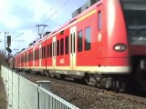 ERS Class 66, SNCF Prima, BR189, 3x BR143, 2x BR425 Bonn Beuel Süd