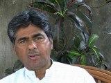 Rajagopal  interview on Jan Satyagraha march (short lenght)