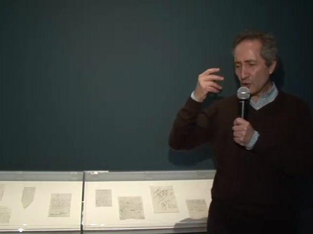 Bernard Blistène à propos d'A l'infinitif (la Boite blanche, 1966 ) de Marcel Duchamp - Nouveau festival/3ème édition