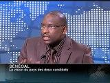 AFRICA NEWS ROOM du 09/03/12 - Sénégal - La vision du pays des 2 candidats - partie 2