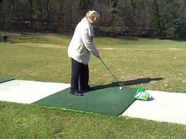 Maman swing Golf