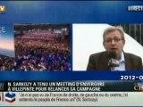 Pierre Laurent FDG en réponse au discours de Sarkozy à Villepinte