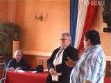 Conférence de presse-2PCF-GRENAYPar PCF-GRENAY  Conférence de presse- Christian CHAMPIRE et Serge DECAILLON - Front de Gauche