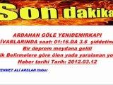 Ardahan Gölede deprem haberleri info @ MEHMET ALİ ARSLAN Haber