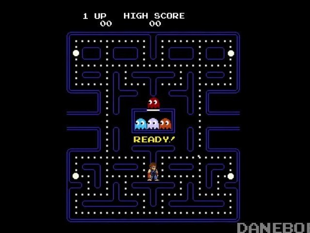 Chuck Norris contre Pac Man