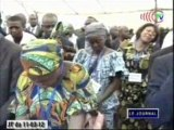 Hommage aux victimes des explosions du régiment blindé à Mpila