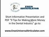Dental Articulator, After Articulating