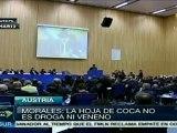 Evo Morales reiteró ante ONU defensa de la hoja de coca
