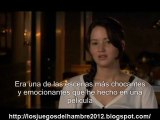 The Hunger Games cast interview Jennifer Lawrence subtitulos español