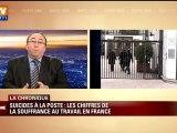 Au-delà de La poste ou France Télécom, la souffrance au travail est un fléau en France