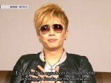 [Portuguese Subs] GACKT - Message for 11th March at J-Melo (2012.03.12)