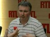 """Vincent Drezet, le secrétaire général du Syndicat national unifié des impôts (Snui), était l'invité de """"RTL Midi"""" mardi"""