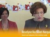 Déplacement ministériel de Roselyne Bachelot-Narquin dans la Vienne
