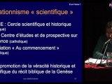 ADS : Olivier Brosseau, Cyrille Baudouin Les offensives créationnistes de part et d'autre de l'Atlantique