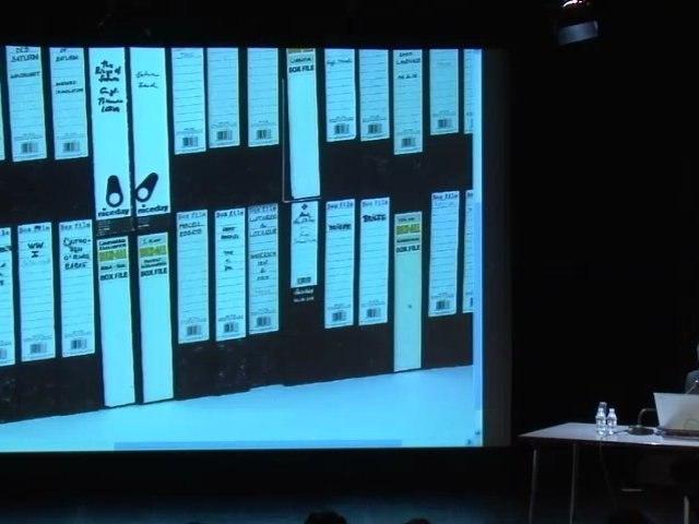 """Ulrich Von Bülow, """"W.G. Sebald et l'archive"""" - Nouveau festival / 3ème édition"""