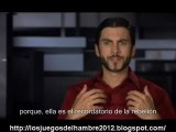 The Hunger Games cast interview Wes Bentley subtitulos español