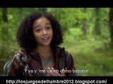 The Hunger Games cast interview Amandla Stenberg subtitulos español