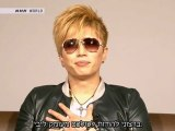 [Hebrew Subs] GACKT - Message for 11th March at J-Melo (2012.03.12)