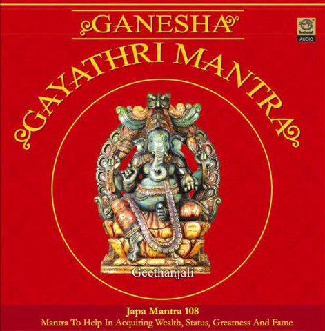 Ganesha Gayathri Mantra — Sanskrit Spiritual
