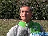 """ASSE/OL: """"2 à 0 pour les Verts"""" pronostique Louis Laforge"""