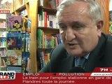 Jean-Pierre Raffarin en dédicaces à Lille