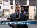 Les parlementaires UMP regonflés après leur déjeuner avec Sarkozy