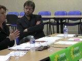 EELV Caen met la ville en campagne #1 - Hélène Flautre, eurodéputée EELV sur l'immigration.