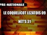 BASKET PRE-NATIONALE - COQUELICOTS LEZATOIS - NET'S