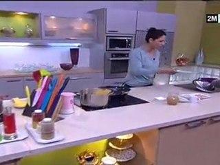 Choumicha - Pâtes Sauce épinards