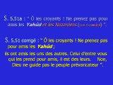 CHRETIENS ET JUIFS DANS LE CORAN 7 11   Ce que le coran dit réellement d'eux - YouTube