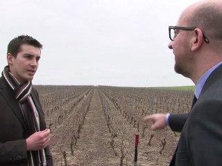 Le MR proche de vous: Visite du vignoble des Agaises