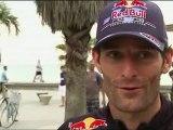 F1, GP Australia 2012: Vettel e Webber in spiaggia a Melbourne