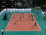 Volley - CDF 12 - Finale féminine - Mulhouse / RC Cannes - Dimanche 11 mars 16h