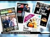 La Belgique en deuil