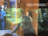 """Susan Sarandon interpreta a mesa de ping-pong en """"Good Morning America '"""