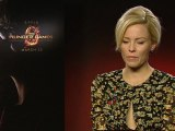 Hunger Games' Elizabeth Banks tells us she's a 'biter'!
